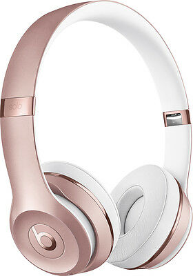Headphones - Beats by Dr. Dre - Beats Solo3 Wireless Headphones - Rose Gold