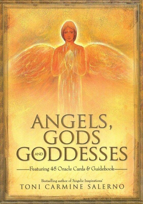 10th Anniversary ANGELS GODS GODDESSES 45 Oracle Cards Illustrated Guidebook Set