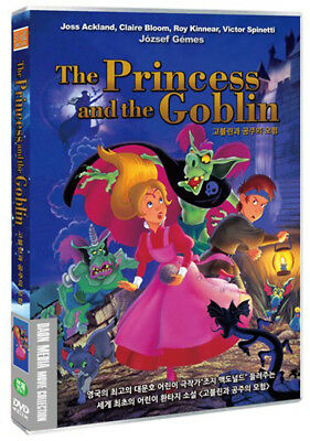 The Princess and the Goblin / József Gémes (1991) - DVD new