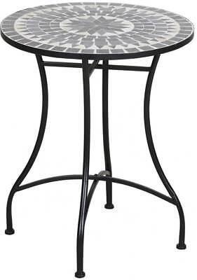 TrendLine Tisch Bretagne Mosaik rund ß: 60 cm H: 72 cm Gartentisch Beistelltisch