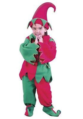 Fun World Elf Christmas Toddler Costume Set, 24 Months-2T - Toddler Elf Costume