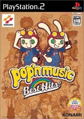 USED PS2 Pop'n Music Best