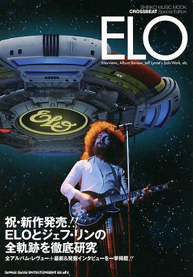Crossbeat Special Edition ELO book Jeff Lynne photo Electric Light Orchestra