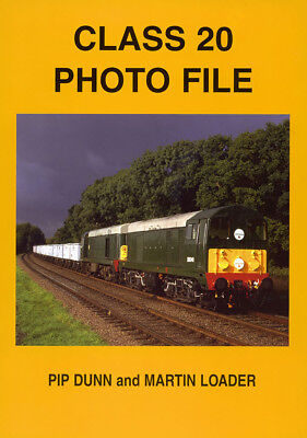 CLASS 20 PHOTO FILE RAILWAY BOOK NEW MINT ALL LOCOS PICTURED