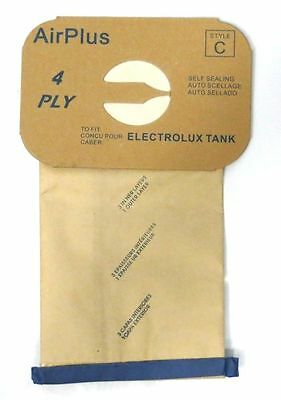 Package Of 100 Electrolux Canister Vacuum Style C Bags 4 Ply