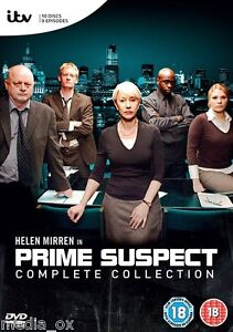 Prime Suspect: The Complete TV Series Collection Box Set | New | Sealed | DVD