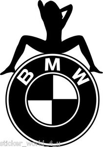 D053-BMW-SEXY-GIRL-M-SERIES-3-5-7-SERIES-TOURING-CUSTOM-VINYL-DECAL-STICKER-CAR