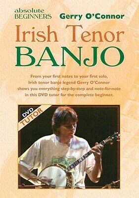 Irish Tenor Banjo for Absolute Beginners Waltons Irish Music Books DVD 000634003
