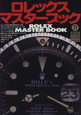 Rolex Master Book Green Arrow Graffiti From Japan