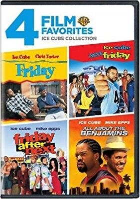 Ice Cube Collection - 4 Film Favorite - Ice Cube Collection (DVD, 2008, 2-Disc Set) NEW