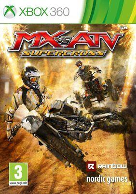 Xbox 360 MX vs ATV Supercross Motorrad-Cross Spiel NEUWARE ()