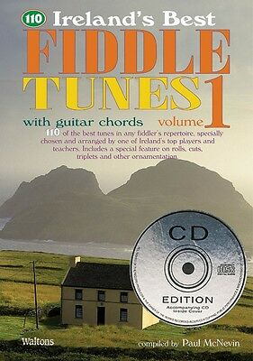 110 Ireland's Best Fiddle Tunes Volume 1 with Guitar Chords Waltons