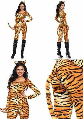 Leg Avenue Women's 2 Piece Wild Tigress Catsuit - Wild Tigress Kostüm