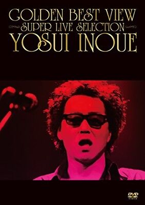 New Inoue Yosui GOLDEN BEST VIEW SUPER LIVE SELECTION DVD Japan