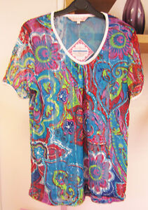 MICHELE HOPE - SPRING LACE TUNIC WITH GATHERED DETAIL - BNWT - LAST FEW! £12.99!