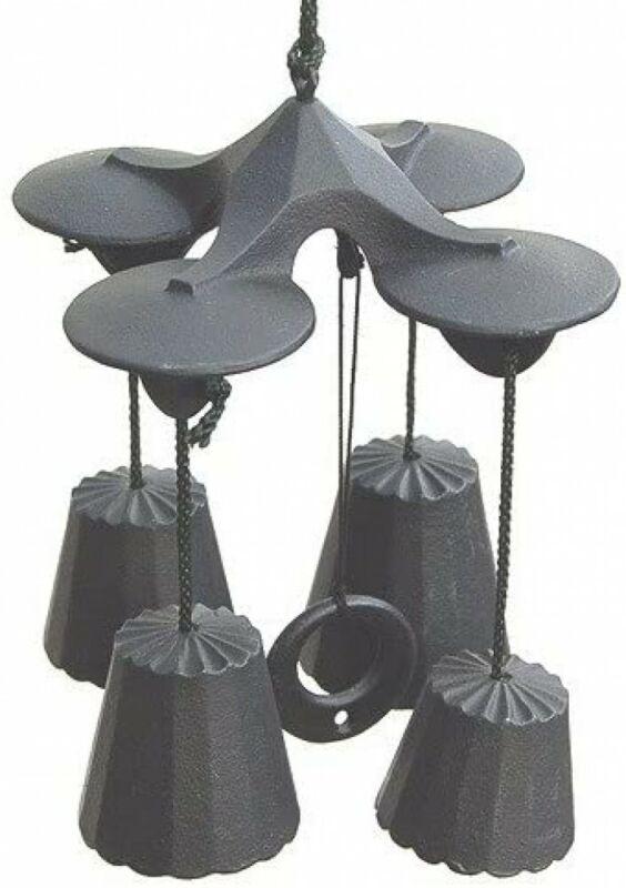 Furin Wind Chime  Bell Nanbu Cast Iron Handcraft Quartet 4 bells Made in Japan