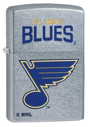 Zippo Windproof Lighter With NHL St. Louis Blues Logo, 49384, New In Box