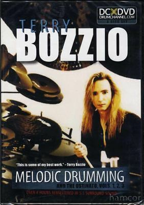 Terry Bozzio Melodic Drumming Drum Tuition 3 DVD Set