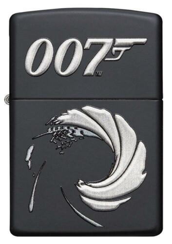 Zippo Lighter - James Bond 007™ Texture Print Black Matte - 49329