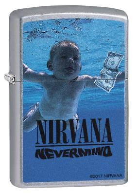 Zippo Windproof Lighter With Nirvana Logo and Design, 29713, New In Box