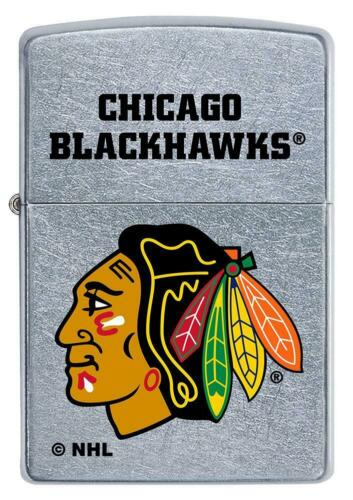 Zippo Windproof Lighter With NHL Chicago Blackhawks Logo, 49365, New In Box