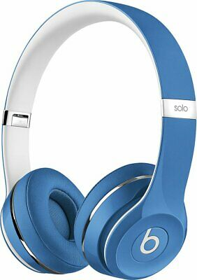 Beats by Dr. Dre Solo2 Luxe Edition Wired On-Ear Foldable Headphones - Blue