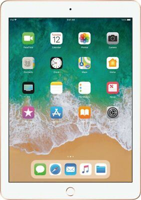 Brand New Apple iPad 6th Generation with Wi-Fi 32GB Gold - MRJN2LL/A