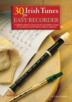 30 Irish Tunes for Easy Recorder Waltons Irish Music Books NEW 000634234