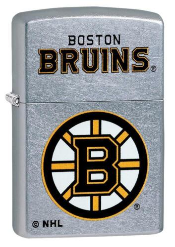 Zippo Windproof Lighter With NHL Boston Bruins Logo, 49361, New In Box