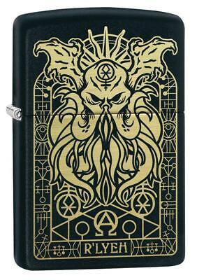 Zippo Windproof Engraved Demonic Monster Lighter, 29965, New In Box