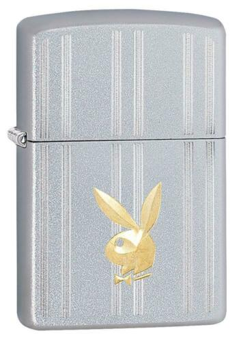Zippo Windproof Playboy Lighter With Engraved Playboy Bunny, 29777, New In Box