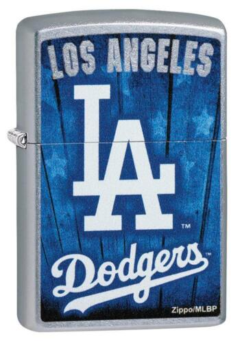 Zippo Windproof Lighter With Los Angeles L.A. Dodgers Logo, 29793, New In Box