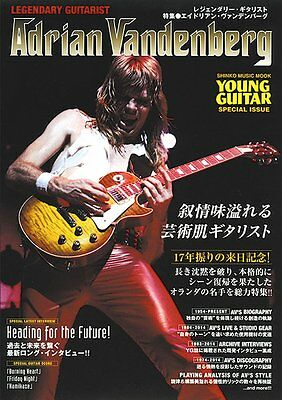 NEW Legendary Guitarlist Adrian Vandenberg Book Japan