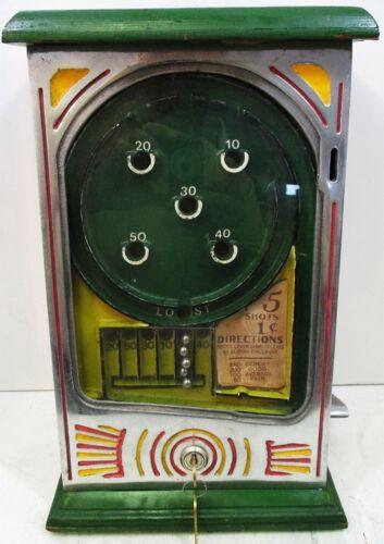 Penny Operated Point Skill Trade Stimulator circa 1940
