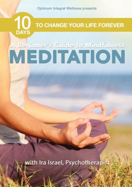 BEGINNER'S GUIDE TO MINDFULNESS MEDITATION WITH - DVD - Region Free
