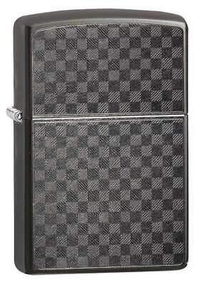 Zippo Windproof Grey Iced Carbon Fiber Lighter, 29823, New In Box