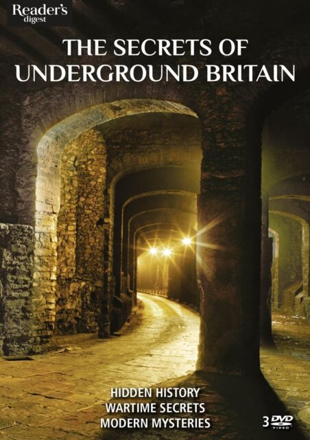 The Secrets of Underground Britain - CAVES - RIVERS - TUNNELS - BUNKERS - 3 DVDs