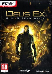 Deus Ex Human Revolution (PC DVD Game) FREE US SHIPPING