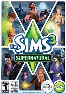 The Sims 3: Supernatural Expansion (PC/MAC, Region-Free) Origin Download KEY