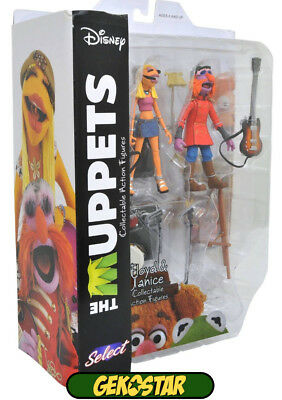 Floyd Pepper & Janice - The Muppets Select Action Figures