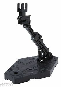 Bandai Hobby Action Base 2 Display Stand (1/144 Scale), Black Gundam