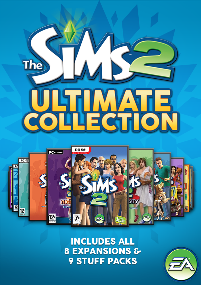 ⭐ THE SIMS 2 ULTIMATE COLLECTION ⭐ FULL COLLECTION ⭐ ORIGIN | ALL Expansions ✅