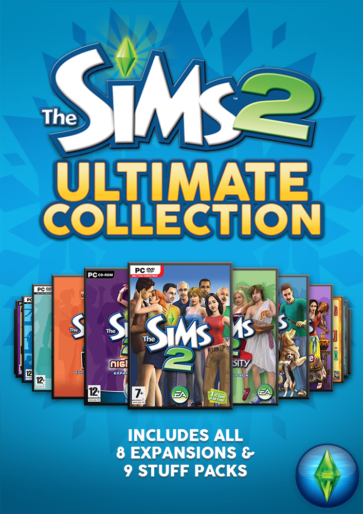 The Sims 2 Ultimate Collection (PC Account) Includes All Expansions & Stuff Pack