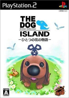 USED PS2 The Dog Island Hitsotsuno no Hana no Monogatari
