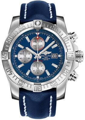 Breitling Super Avenger II A1337111/C871-101X Blue Dial Men's Watch