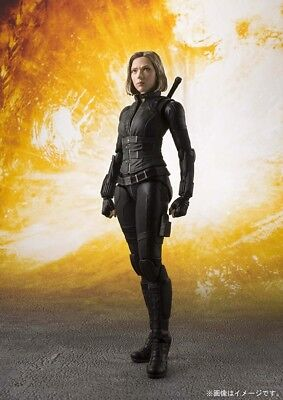 BANDAI S.H.Figuarts Avengers Black Widow Action figure, NEW, In Stock