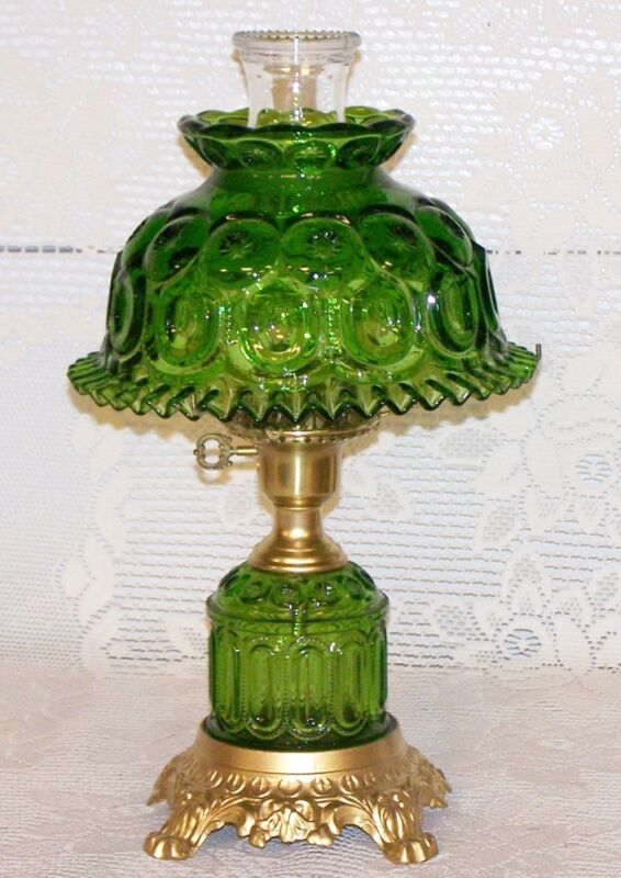 Moon & Star Limited Edition Green Lamp - FREE SHIPPING WITH BIN - GTC