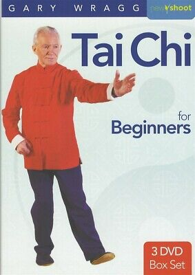 TAI CHI FOR BEGINNERS 3 DVD SET SENIOR CITIZEN OLDER ADULT EXERCISE WORKOUTS NEW