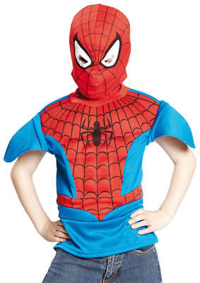 Spiderman Spider-Man mit Muskeln Kinder Karneval Fasching Kostüm 3-6 J ()