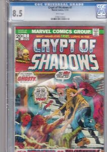 Crypt of Shadows #7 CGC 8.5 Marvel Comics
